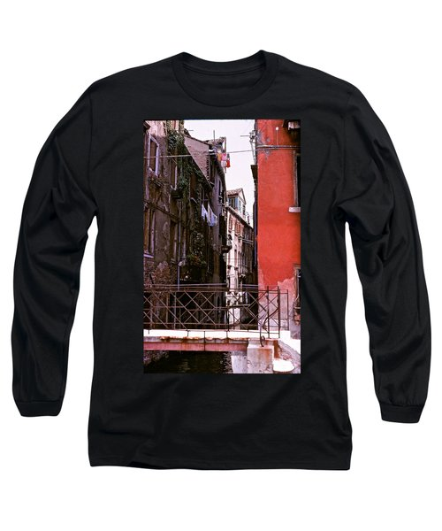 Long Sleeve T-Shirt featuring the photograph Venice by Ira Shander