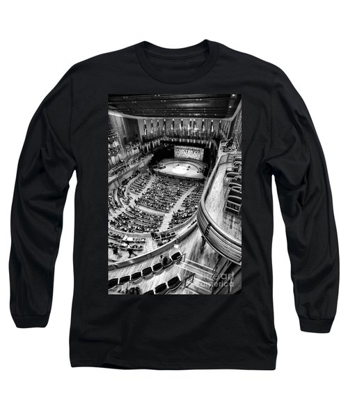 View From The Upper Balcony At Strathmore Music Center Long Sleeve T-Shirt