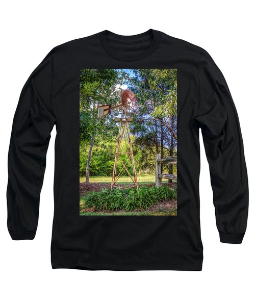 Long Sleeve T-Shirt featuring the photograph Warm Breeze by Rob Sellers