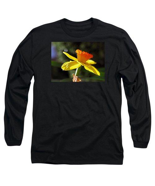 Wide Open Long Sleeve T-Shirt by Joe Schofield