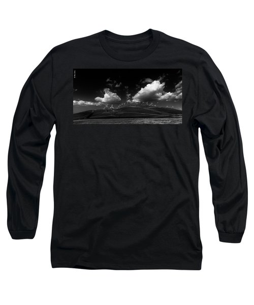 Windmill Electric Power Station Long Sleeve T-Shirt