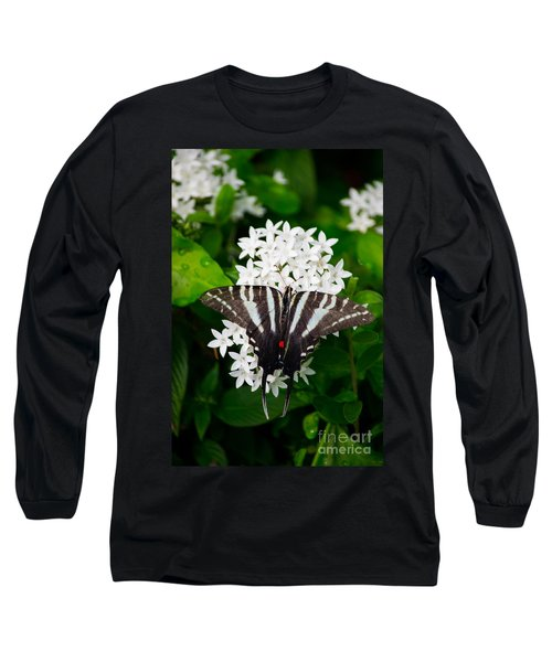 Zebra Swallowtail Long Sleeve T-Shirt