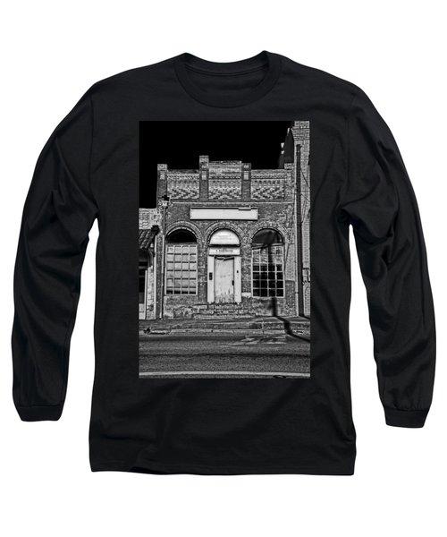 104 South Washington Long Sleeve T-Shirt by Mark Alder