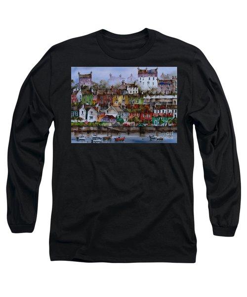 107 Windows Of Kinsale Co Cork Long Sleeve T-Shirt