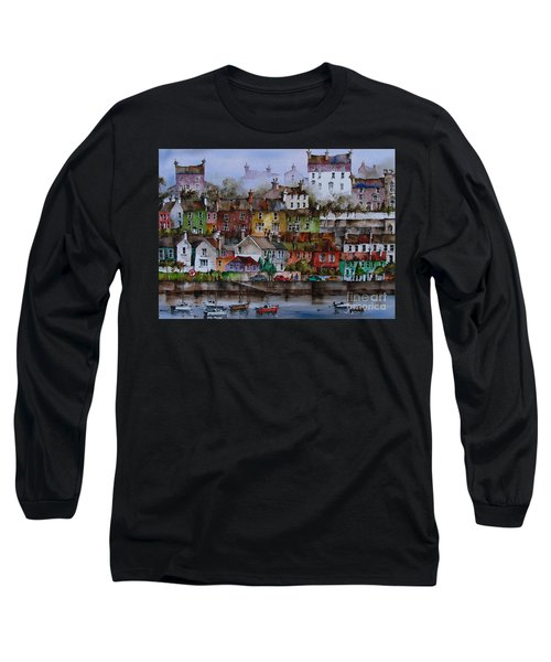 107 Windows Of Kinsale Co Cork Long Sleeve T-Shirt