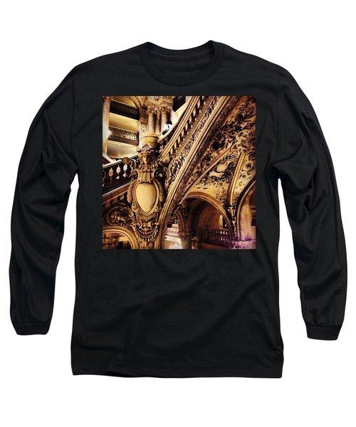 #paris Long Sleeve T-Shirt