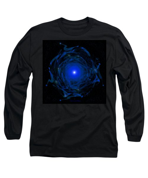 1138 -  Travelling To The Light Long Sleeve T-Shirt by Irmgard Schoendorf Welch
