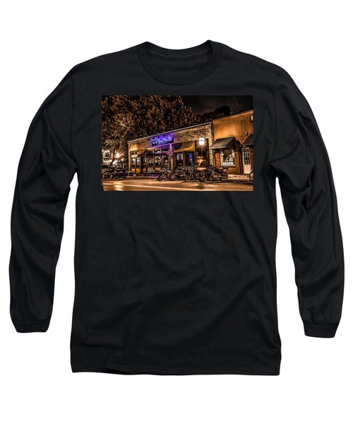 Long Sleeve T-Shirt featuring the photograph 11th St. Precinct by Ray Congrove