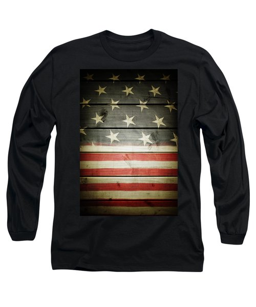 American Flag 58 Long Sleeve T-Shirt