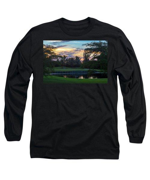15th Green At Hollybrook Long Sleeve T-Shirt