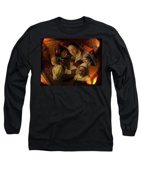 17th Century Maidens Long Sleeve T-Shirt