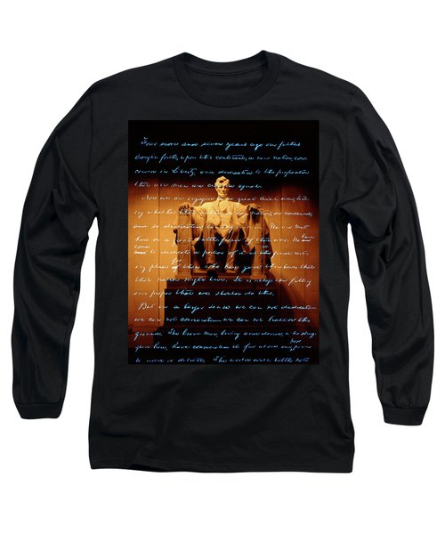 1860s Abraham Lincoln Statue Long Sleeve T-Shirt