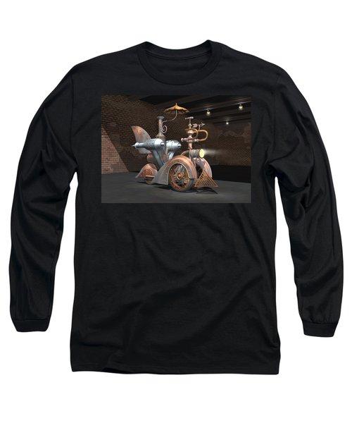 1898 Steam Scooter Long Sleeve T-Shirt
