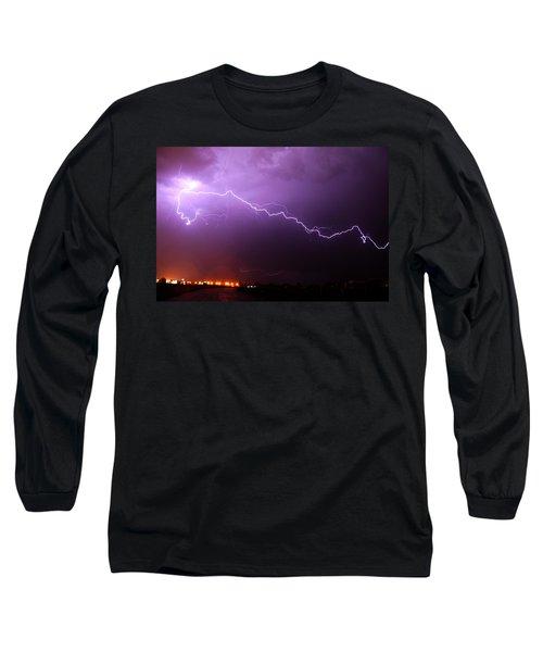 Nebraska Cells Redevloping Over South Central Nebraska Long Sleeve T-Shirt