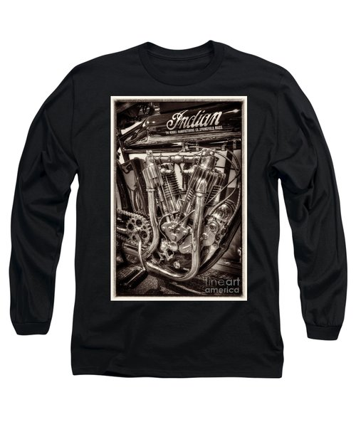 1912 Indian Twin Long Sleeve T-Shirt by Paul W Faust -  Impressions of Light