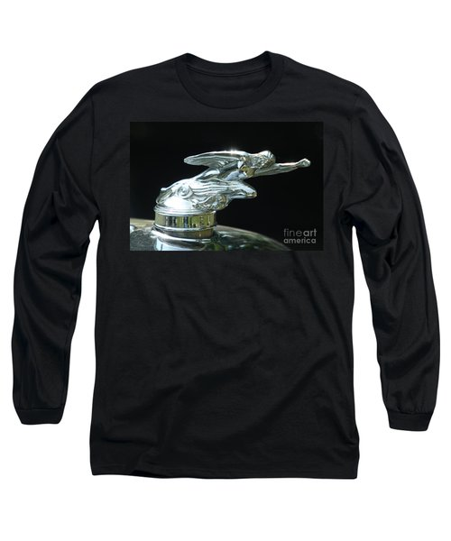 1928 Studebaker Hood Ornament Long Sleeve T-Shirt