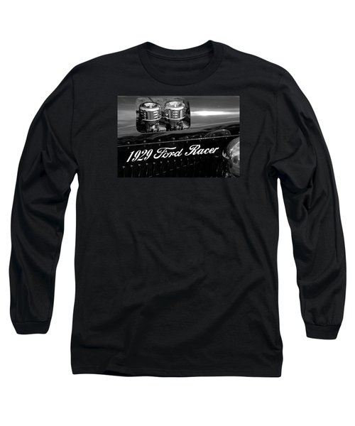 Long Sleeve T-Shirt featuring the photograph 1929 Ford Racer by Janice Adomeit