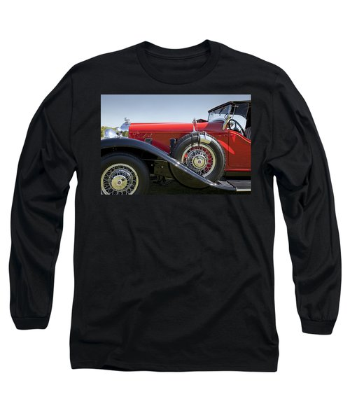 1932 Stutz Bearcat Dv32 Long Sleeve T-Shirt