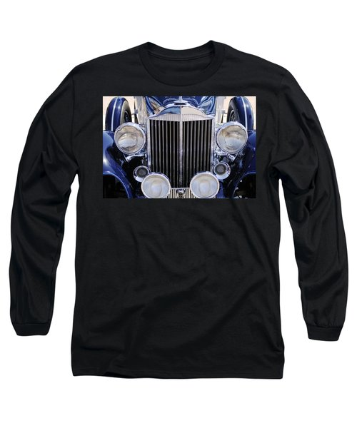 1933 Packard 12 Convertible Coupe Grille Long Sleeve T-Shirt