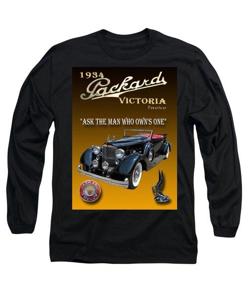 1934 Packard Long Sleeve T-Shirt