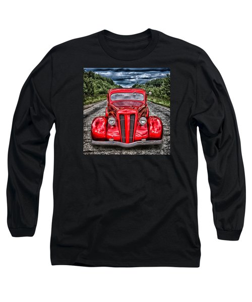 Long Sleeve T-Shirt featuring the digital art 1935 Ford Window Coupe by Richard Farrington