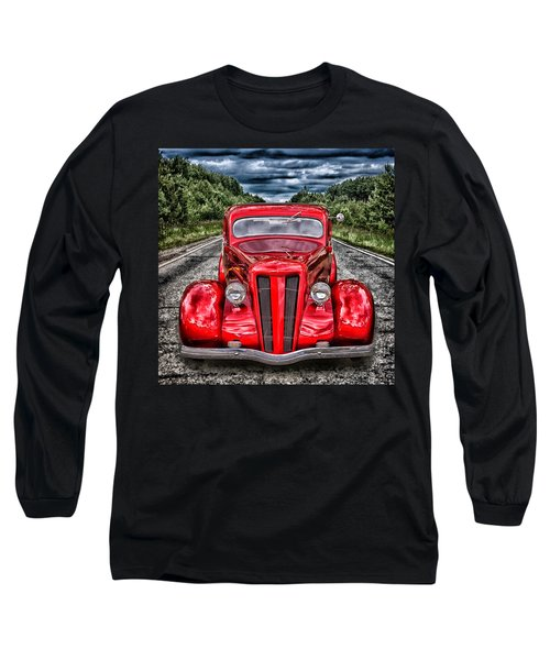 1935 Ford Window Coupe Long Sleeve T-Shirt