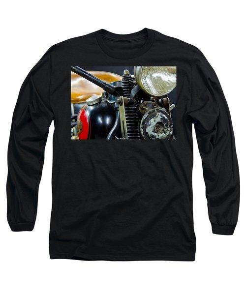 1936 El Knucklehead Harley Davidson Motorcycle Long Sleeve T-Shirt