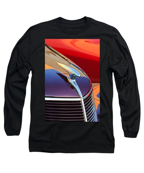 1937 Ford Hood Ornament 2 Long Sleeve T-Shirt