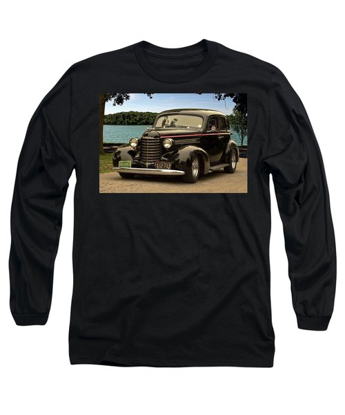 1937 Oldsmobile Custom Sedan Hot Rod Long Sleeve T-Shirt