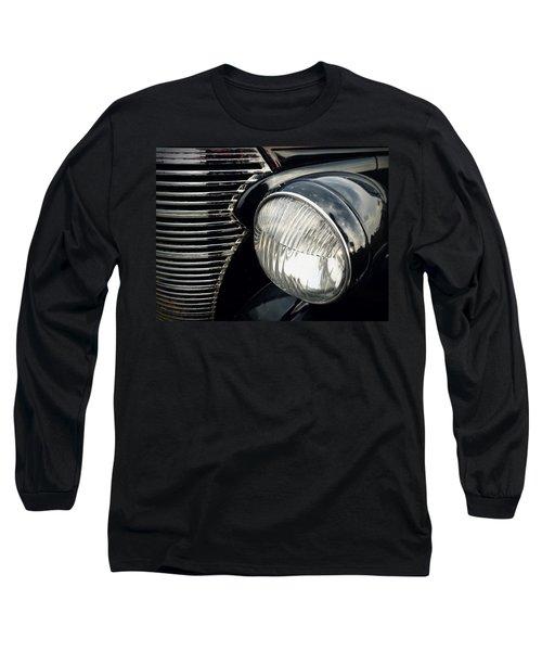 Long Sleeve T-Shirt featuring the photograph 1938 Chevrolet Deluxe Sedan by Joseph Skompski