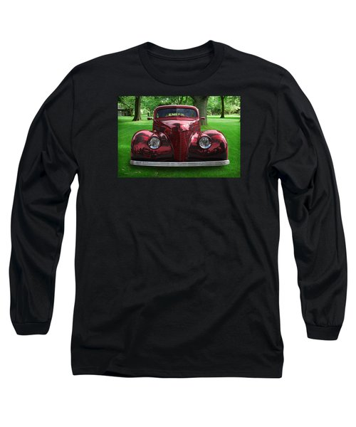 Long Sleeve T-Shirt featuring the digital art 1938 Ford Coupe by Richard Farrington