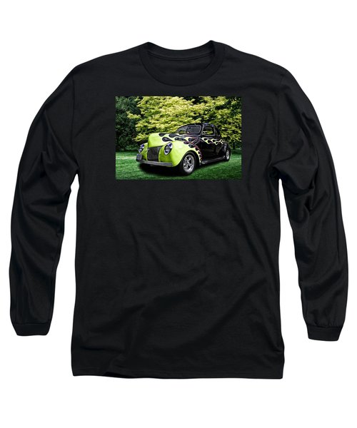Long Sleeve T-Shirt featuring the digital art 1939 Ford Coupe by Richard Farrington