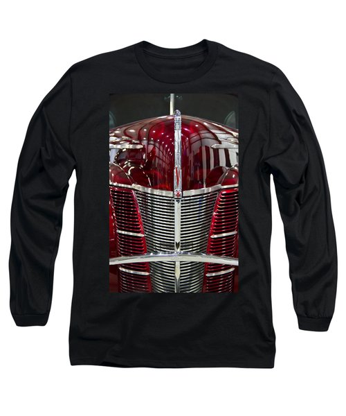 1940 Ford V8 Grill  Long Sleeve T-Shirt