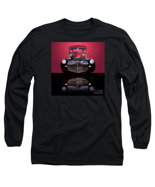 1946 Chevy Panel Truck Long Sleeve T-Shirt by Jim Carrell