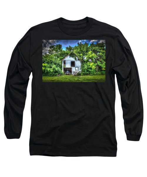 1948 Ford Long Sleeve T-Shirt by Ray Congrove