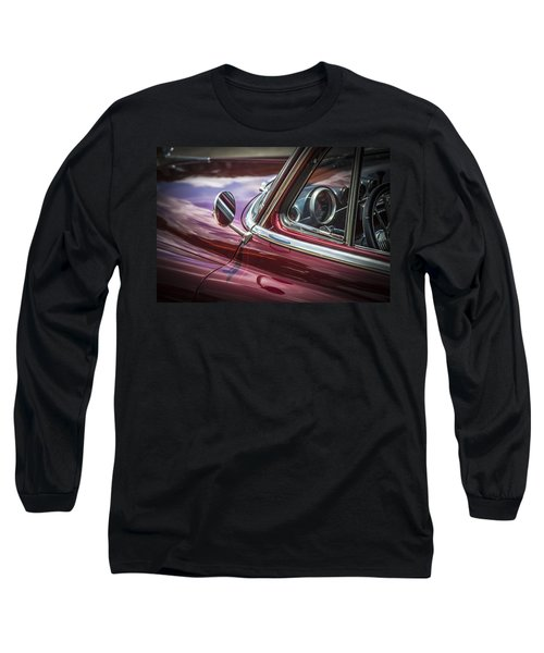 1950 Chevrolet Side View Mirror Long Sleeve T-Shirt