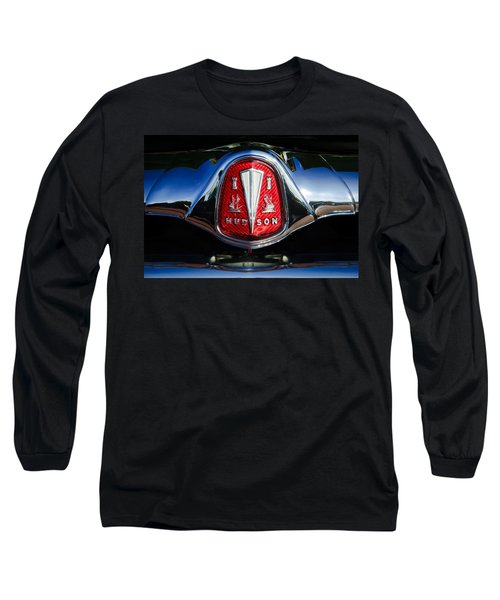 1953 Hudson Hornet Sedan Emblem Long Sleeve T-Shirt