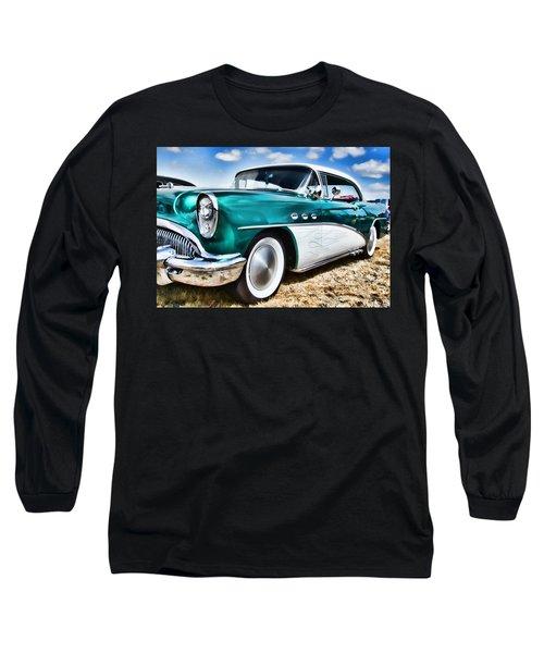 1955 Buick Long Sleeve T-Shirt