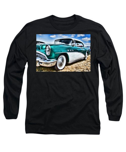 1955 Buick Long Sleeve T-Shirt
