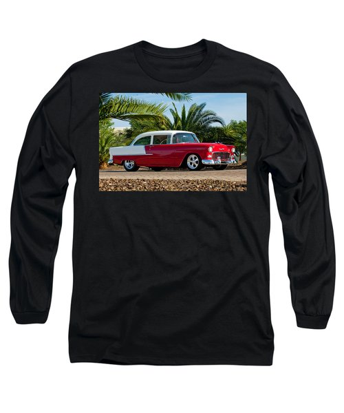1955 Chevrolet 210 Long Sleeve T-Shirt