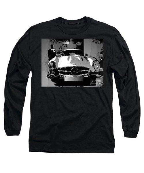 1956 Mercedes Benz 300 Sl Gullwing Long Sleeve T-Shirt