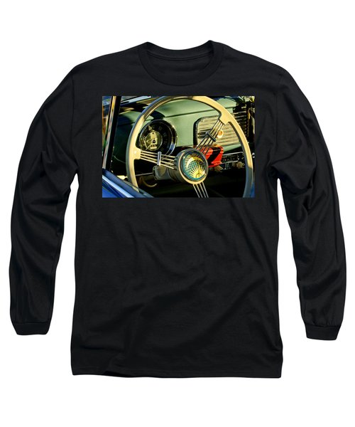 1956 Volkswagen Vw Bug Steering Wheel 2 Long Sleeve T-Shirt