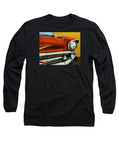 1957 Chevy - Coppertone Long Sleeve T-Shirt