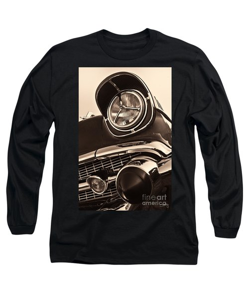 1957 Chevy Details Long Sleeve T-Shirt