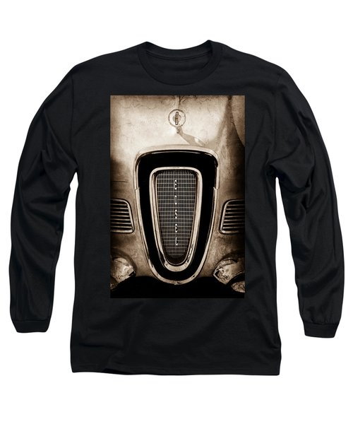 1958 Edsel Pacer Grille Emblem - Hood Ornament Long Sleeve T-Shirt