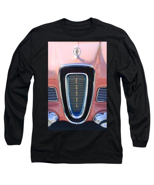 1958 Edsel Pacer Grille Emblem Long Sleeve T-Shirt