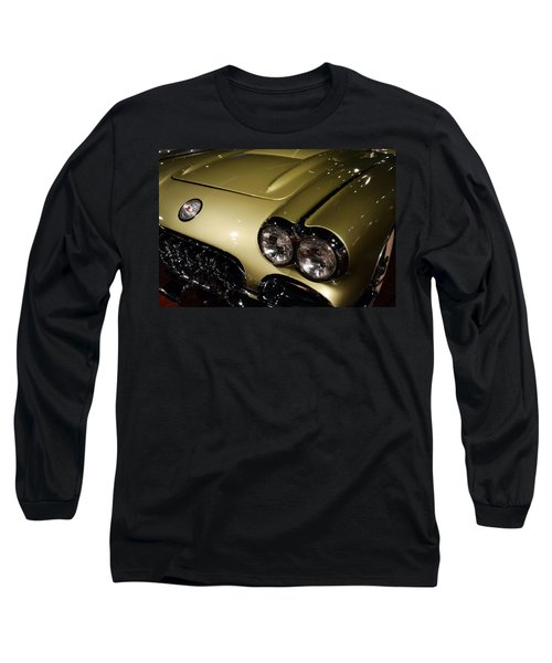 1958 Fancy Free Corvette J58s Long Sleeve T-Shirt