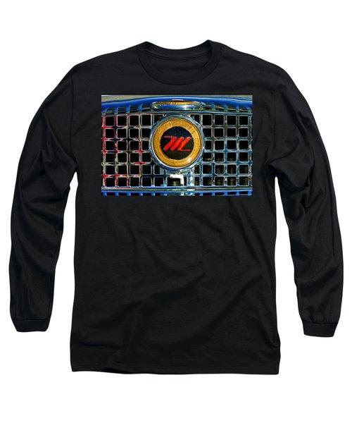 1958 Nash Metropolitan Hood Ornament 3 Long Sleeve T-Shirt