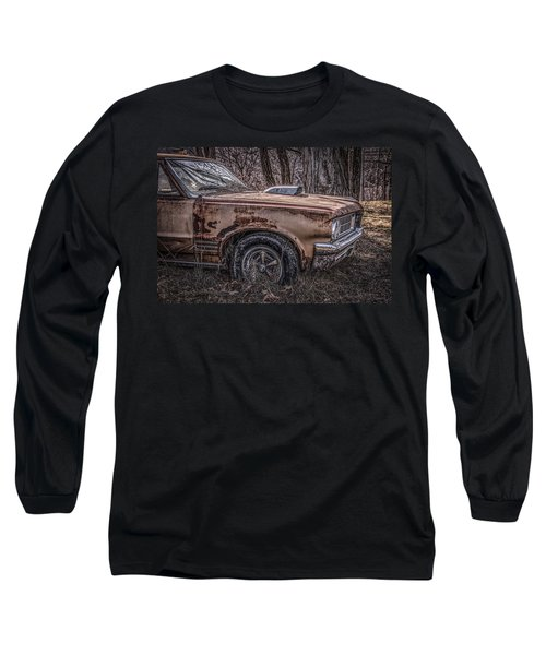 1964 Pontiac Long Sleeve T-Shirt by Ray Congrove