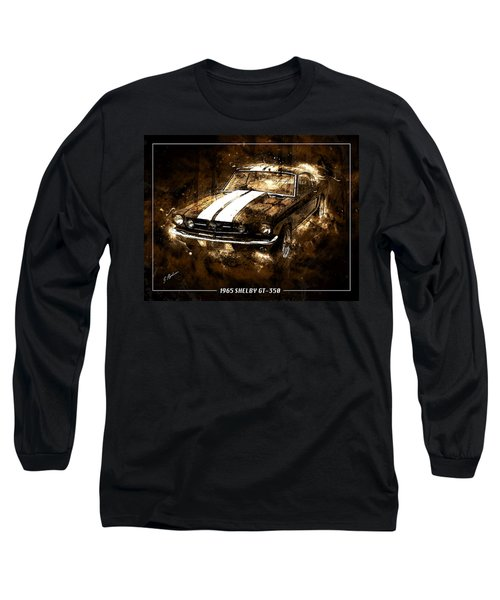 1965 Ford Shelby Mustang Gto-350 #5 Long Sleeve T-Shirt